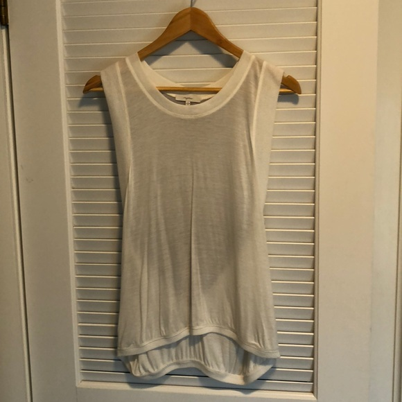 Mystree Tops - White tank